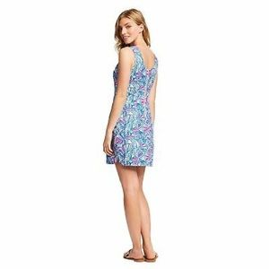 Lilly Pulitzer for Target My Fans Shift Dress Sz10